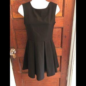 Eva Junie Black Dress